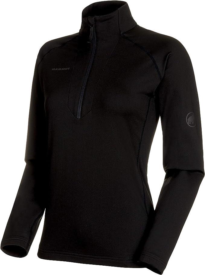 Mammut Damen Snow Half Zip Midlayer Pullover mit Reissverschluss