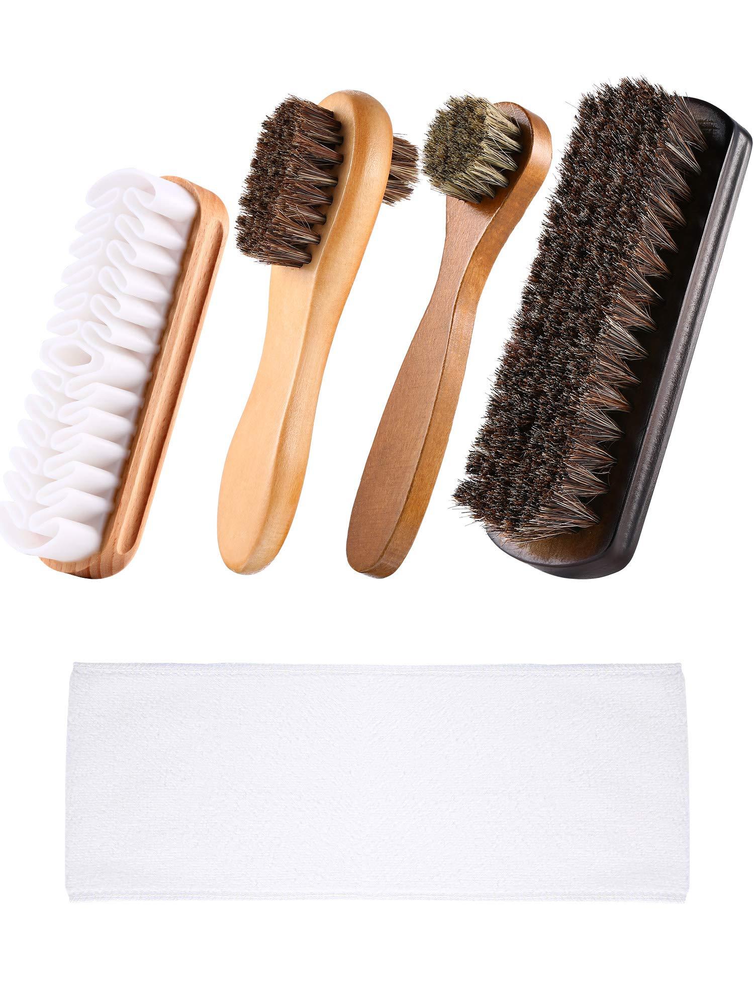 Kit de cepillo para zapatos de 5 piezas Aplicador de  (5JH9)
