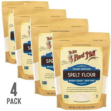 Bobs Red Mill harina de espelta de grano entero resellable ...