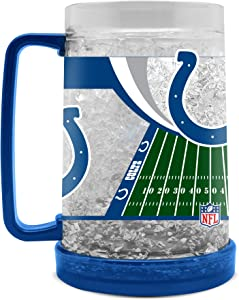 NFL Indianapolis Colts 16oz Crystal Freezer Mug
