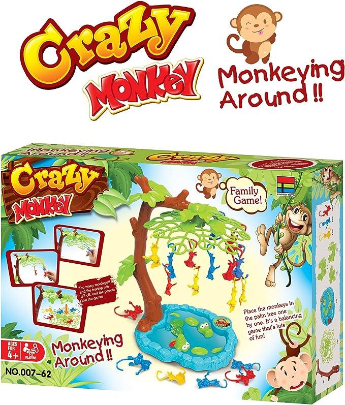 Mono loco Juego de equilibrio Monkeying Around Un juego ...