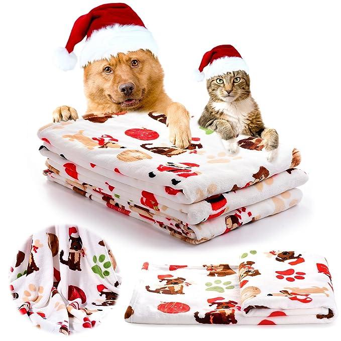 iNNEXT Haustierdecke/Decke für Hunde/Katzen weich Welpen Decke ...