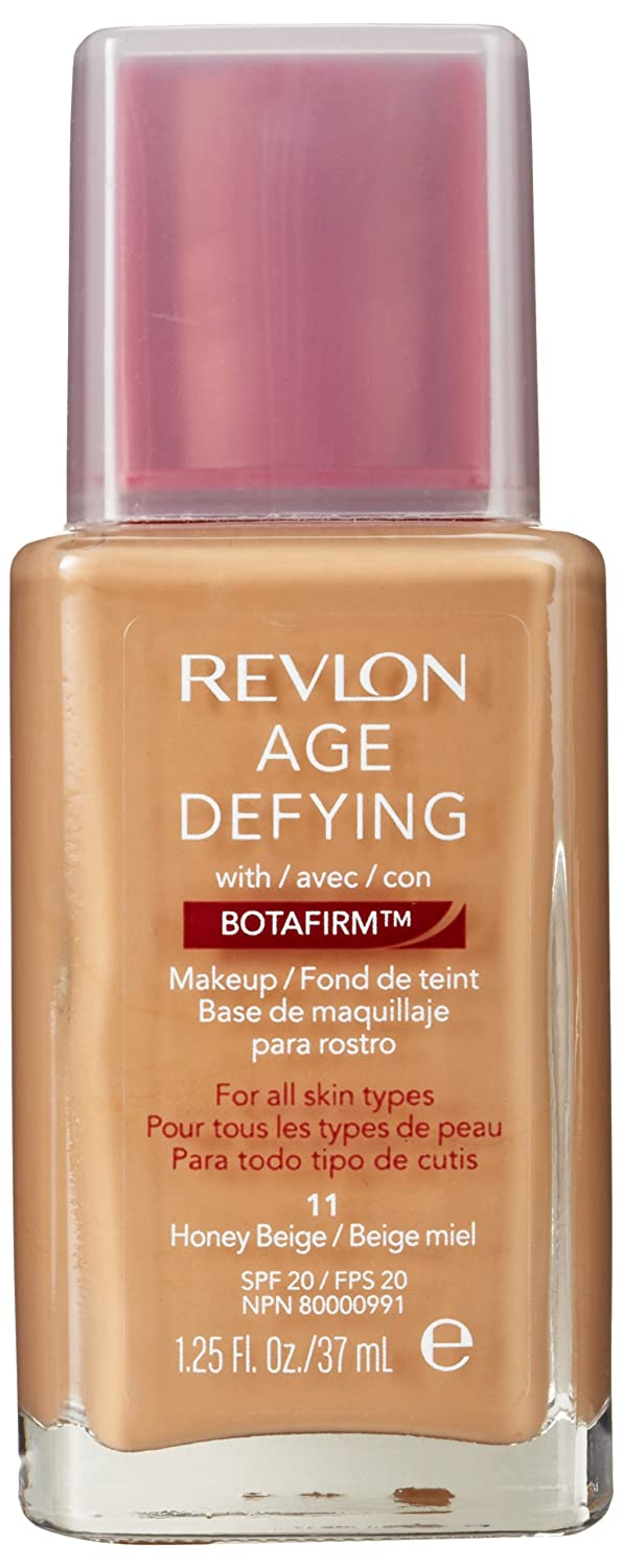 Revlon Age Defying Makeup with Botafirm for Normal/Combination Skin, Golden  Beige, 1 25 Ounce