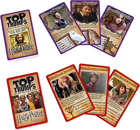 Winning Moves – Juego de Cartas – Top Trumps Collector Tin Harry Potter, 29995: Amazon.es: Juguetes y juegos