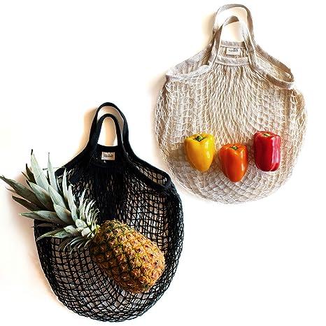 Amazon.com: Bolsas de comestibles reutilizables de ...