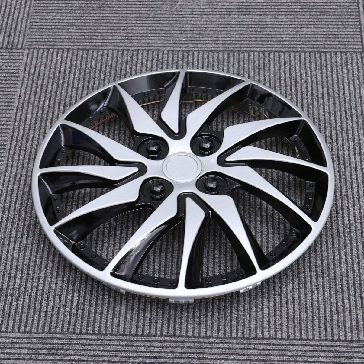 CLISPEED Hubcaps Wheel Covers 14 Inch Hub Caps Wheels Rim Cover for Car Auto Vehicle Tire Parts Replacement Supplies