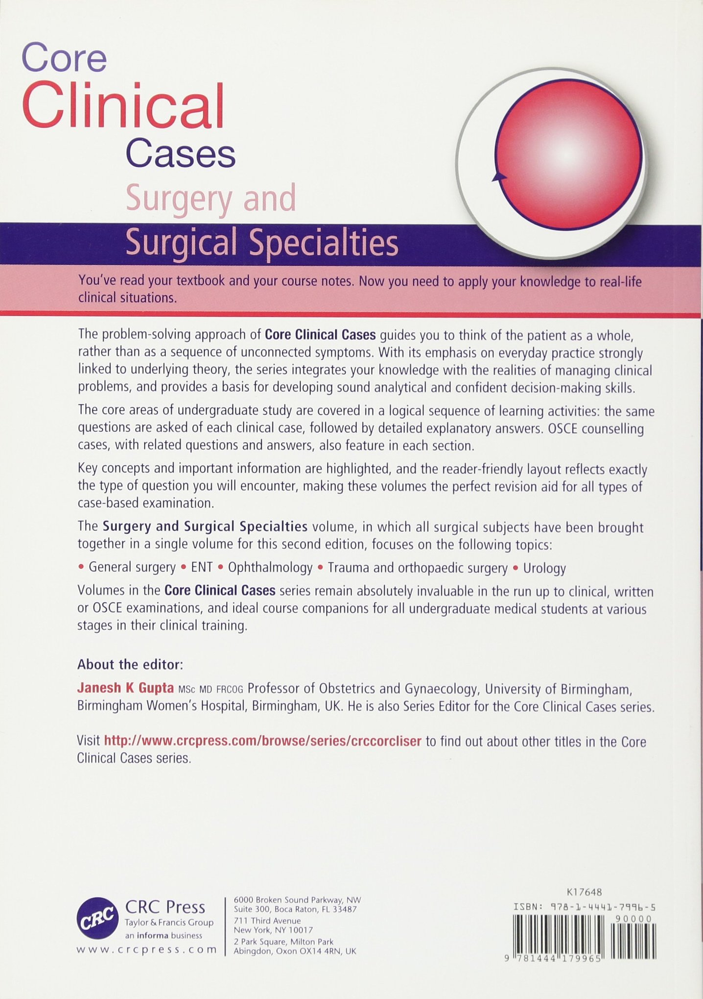 Core Clinical Cases in Surgery and Surgical Specialties: Amazon co