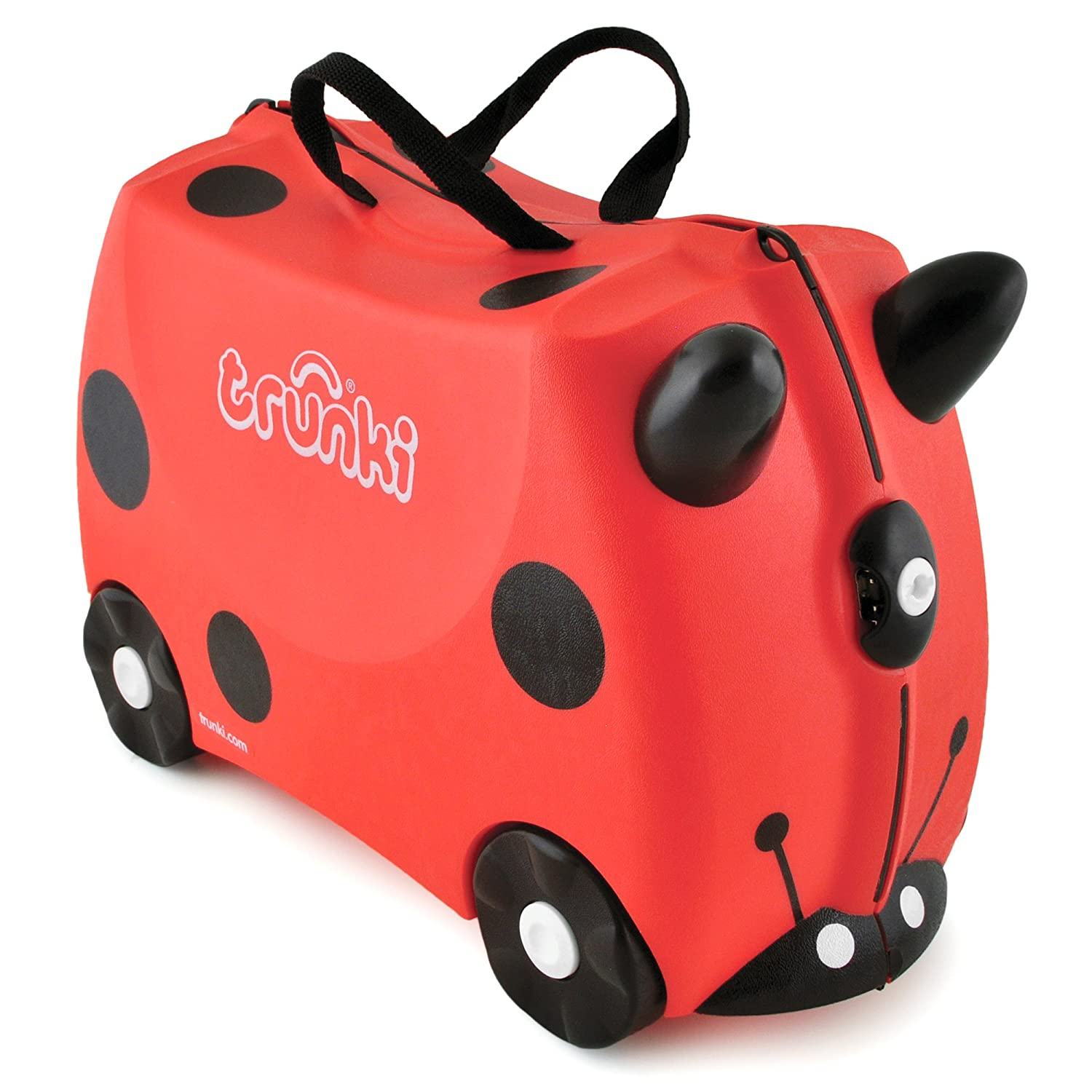 Amazon.com: Harley The Lady-bug Trunki Suitcase (9220009): Toys ...