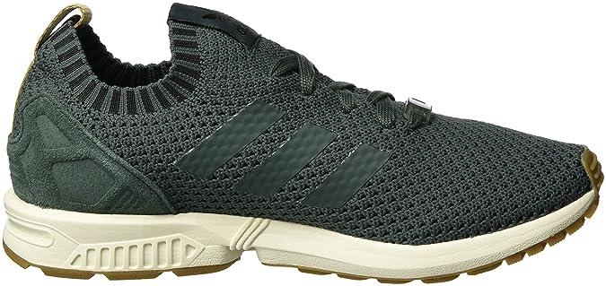 f20d434a0f62f adidas Men s s Zx Flux Primeknit Low-Top Sneakers  Amazon.co.uk  Shoes    Bags