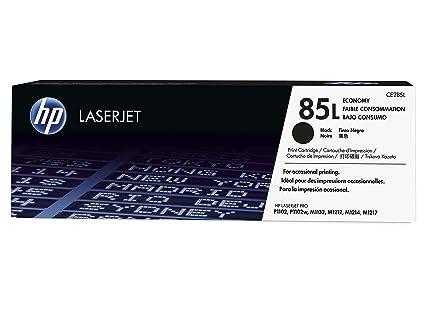 HP 85 - Cartucho de tóner Original HP 85L Negro para HP Laserjet PRO P1102, P1102w, M1132, M1212, M1214, M1217