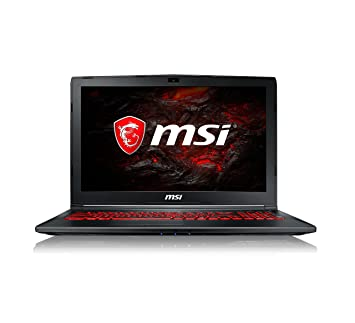 Msi Gl62m 7rdx 1693uk 15 6 Inch Gaming Laptop Black Intel Core