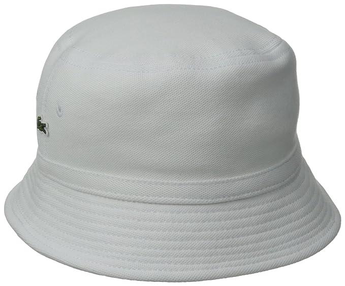 c2e290a02 Lacoste Men s Cotton Pique Bucket Hat at Amazon Men s Clothing store