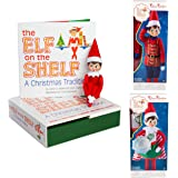 Elf on The Shelf Girl Dress Up Set: Girl Scout Elf, Sugar Plum Soldier, and Super Hero Value Pack