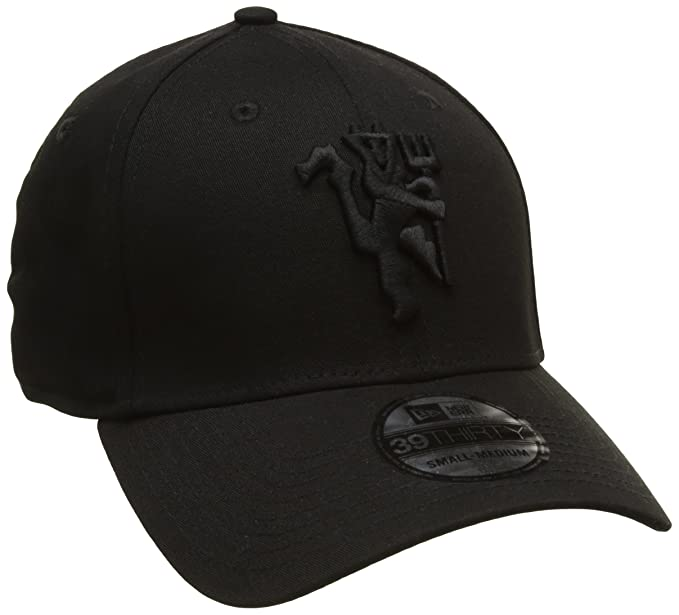 f84b3777a New Era 39Thirty Curved Cap - DEVIL Manchester United black - S/M ...