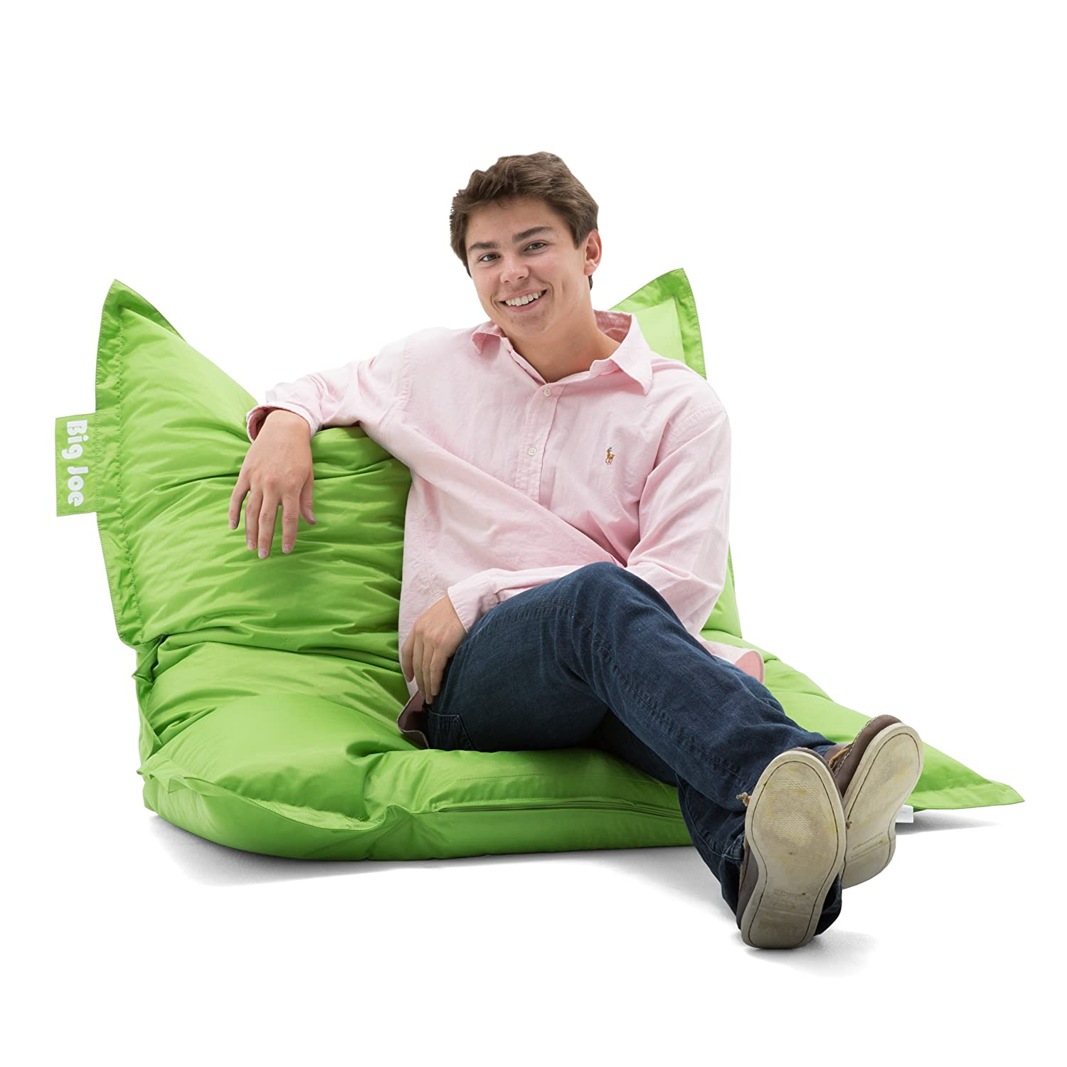 Bean bag chairs for adults - Big Joe Original Bean Bag Chair Spicy Lime