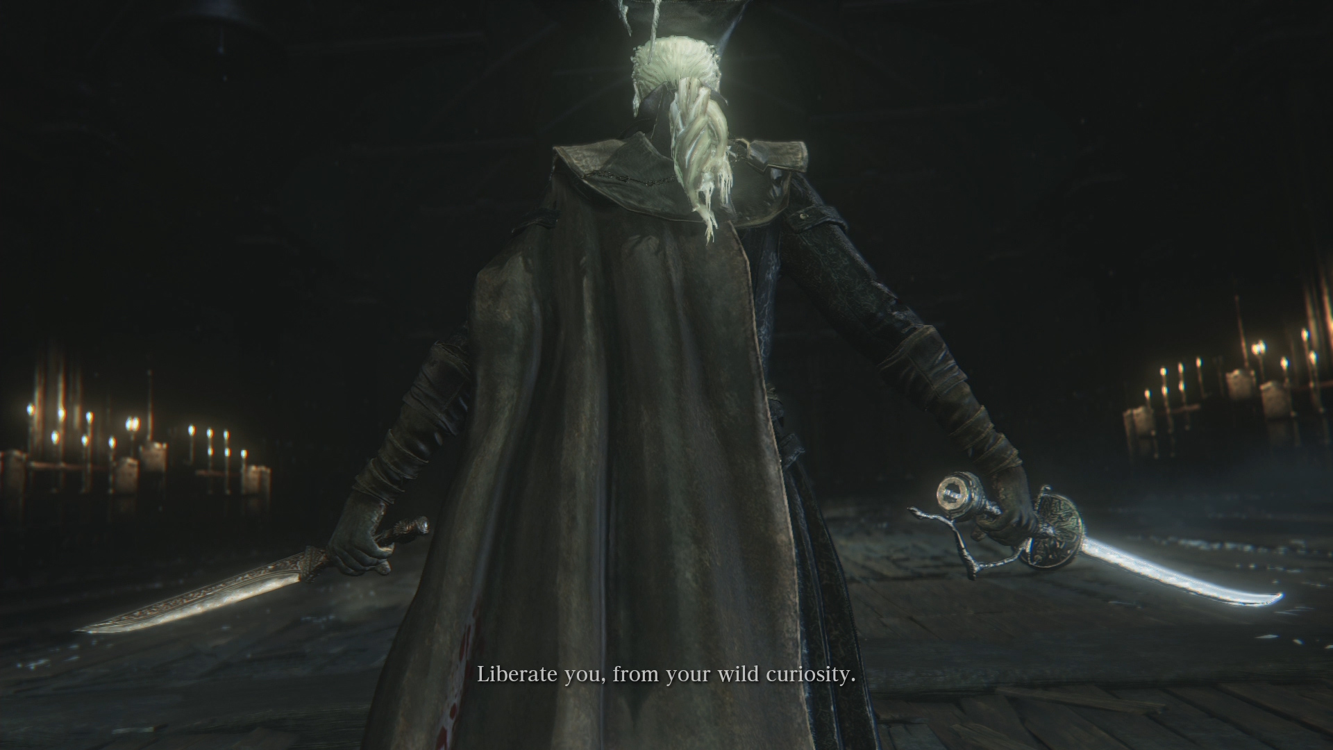Bloodborne The Old Hunters Lady Maria Boss Fight Spoilers