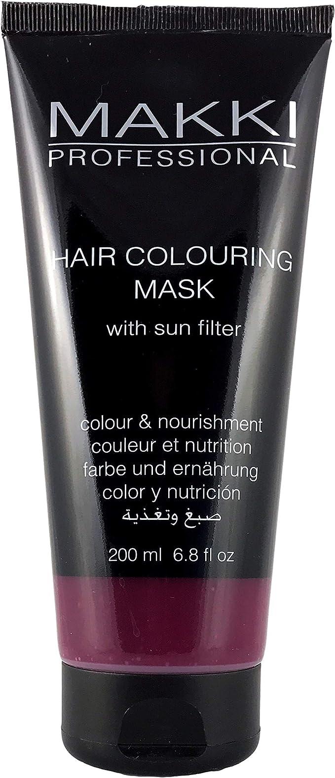 Makki Professional mascarilla de tinte semi permanente para cabello