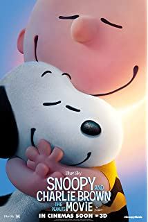 - Charlie Brown 24x36 Snoopy Lucy v5 The Peanuts Movie 2015 Movie Poster