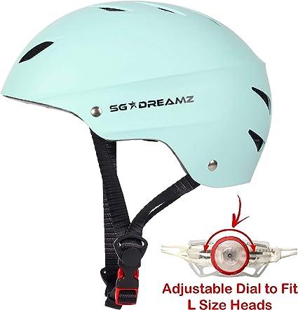 Outdoor Helmet Multi Sport Kids /& Adult Bike Riding Hard Cap 3 Sizes Helmet Certified Protection for/Head
