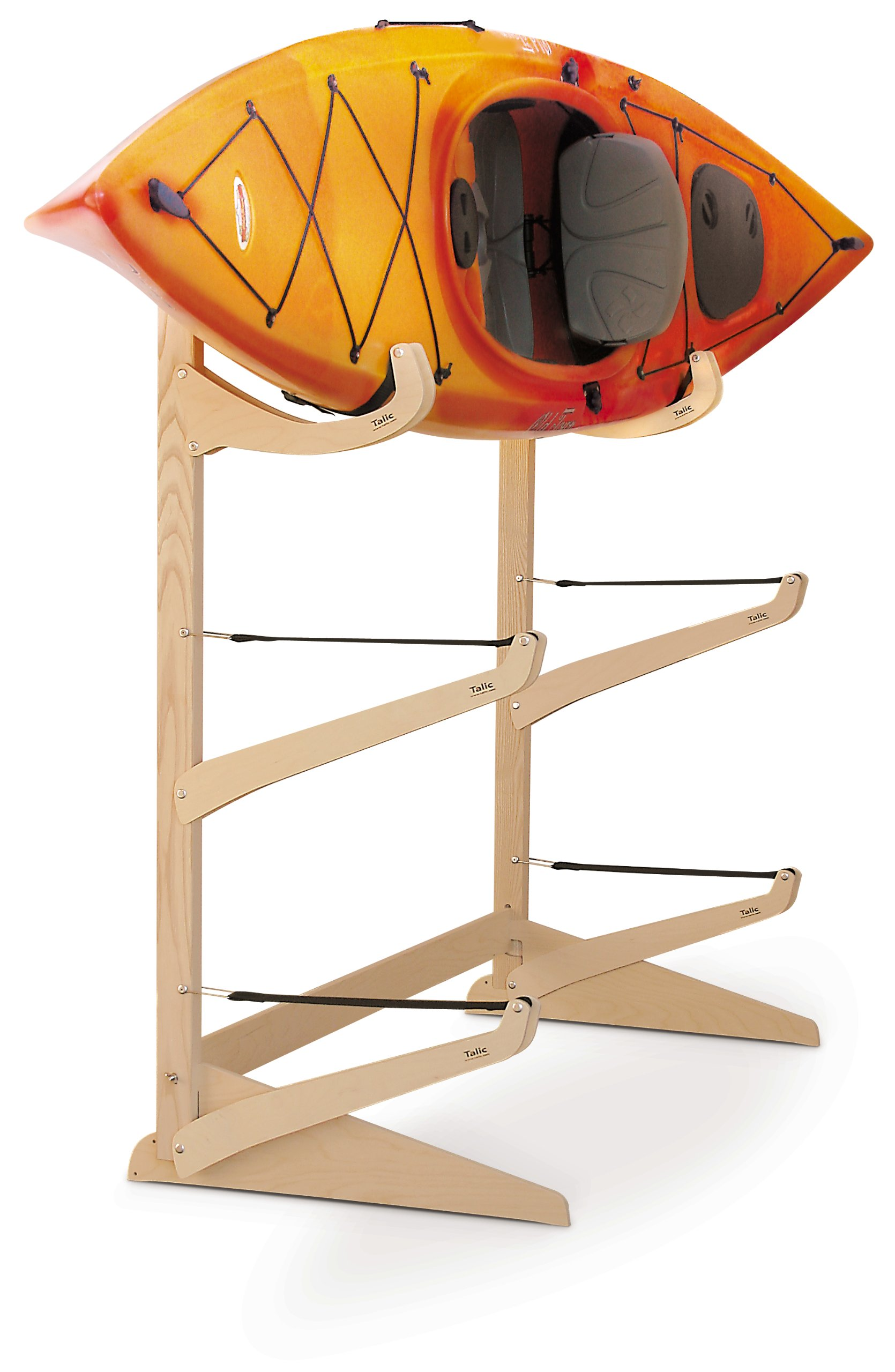 Talic Owasco - 3 Boat Freestanding Kayak Storage Rack
