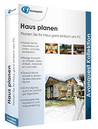 Haus planen - Avanquest Kollektion: Amazon.de: Software