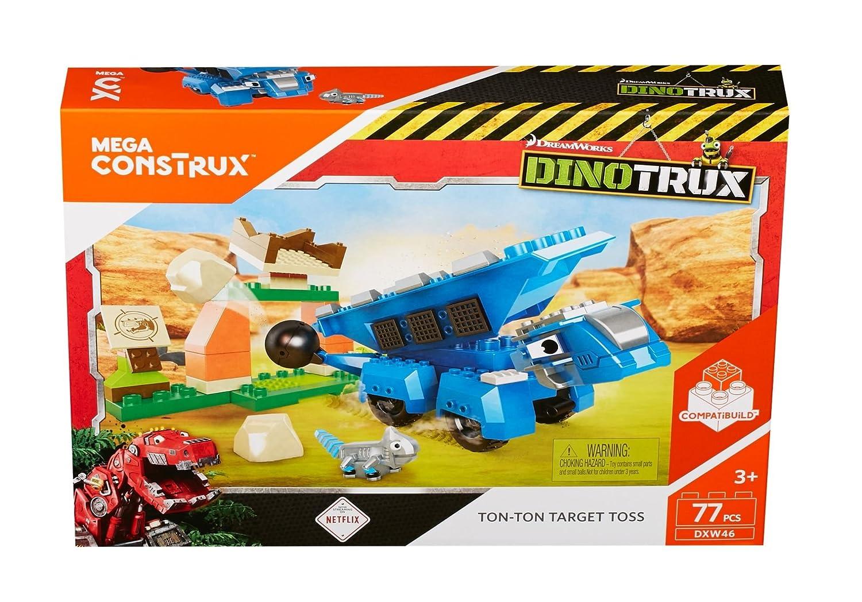 Mega Construx Dinotrux Ton-Ton /& Ace Building Set