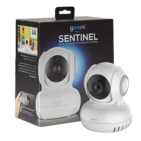 Amazon.com: Geeni Sentinel Wireless Security Camera, WiFi Home Surveillance IP Camera for Baby/Elder/Pet/Nanny Monitor, Pan/Tilt, Two-Way Audio & Night ...