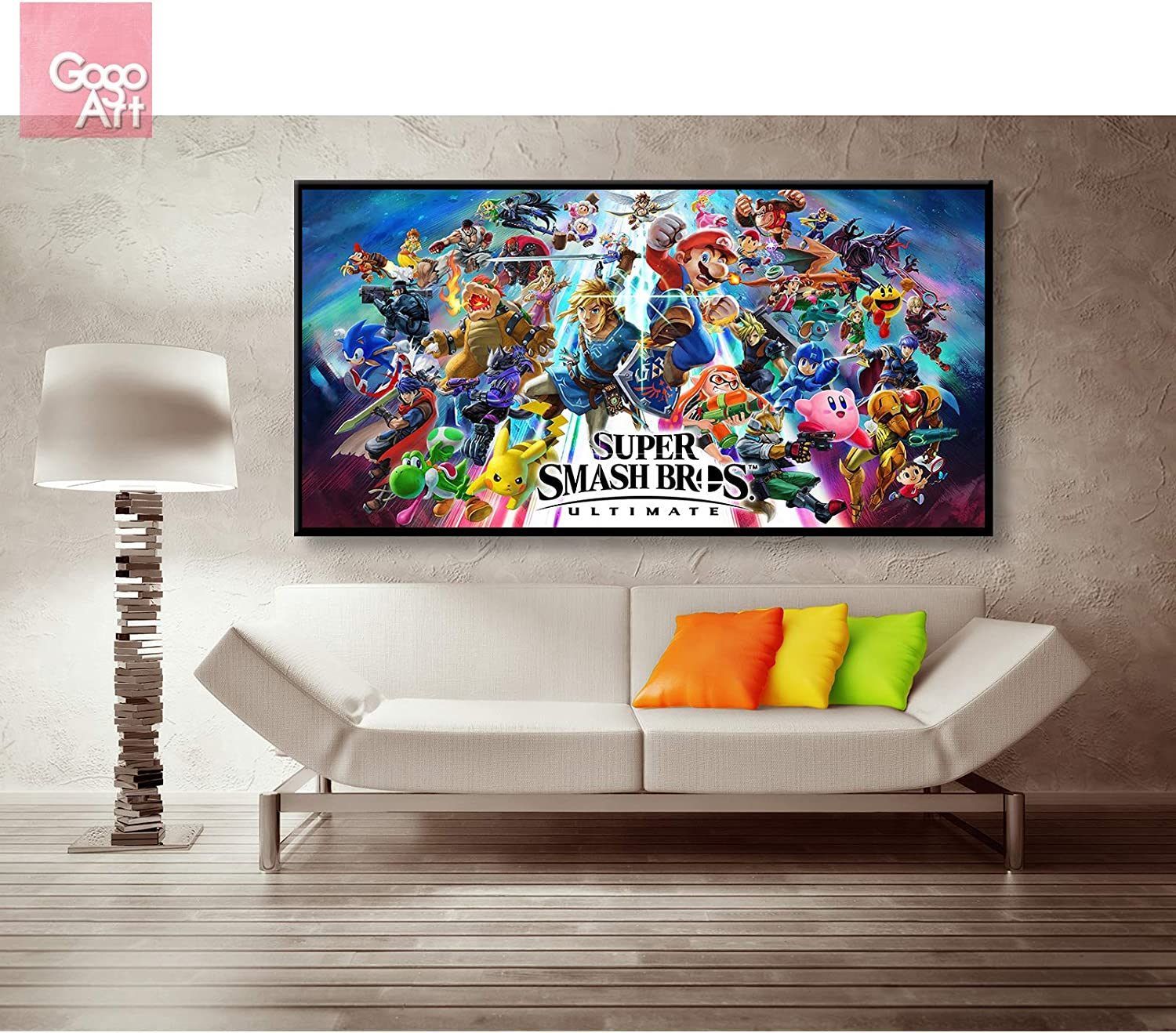 """12/""""x22/""""Mario Kart 8 posters Home Decor Room HD Canvas Print Wall Art Picture"""