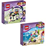 LEGO Friends Emma & Mia 66568 Building Kit Bundle (175 Piece)