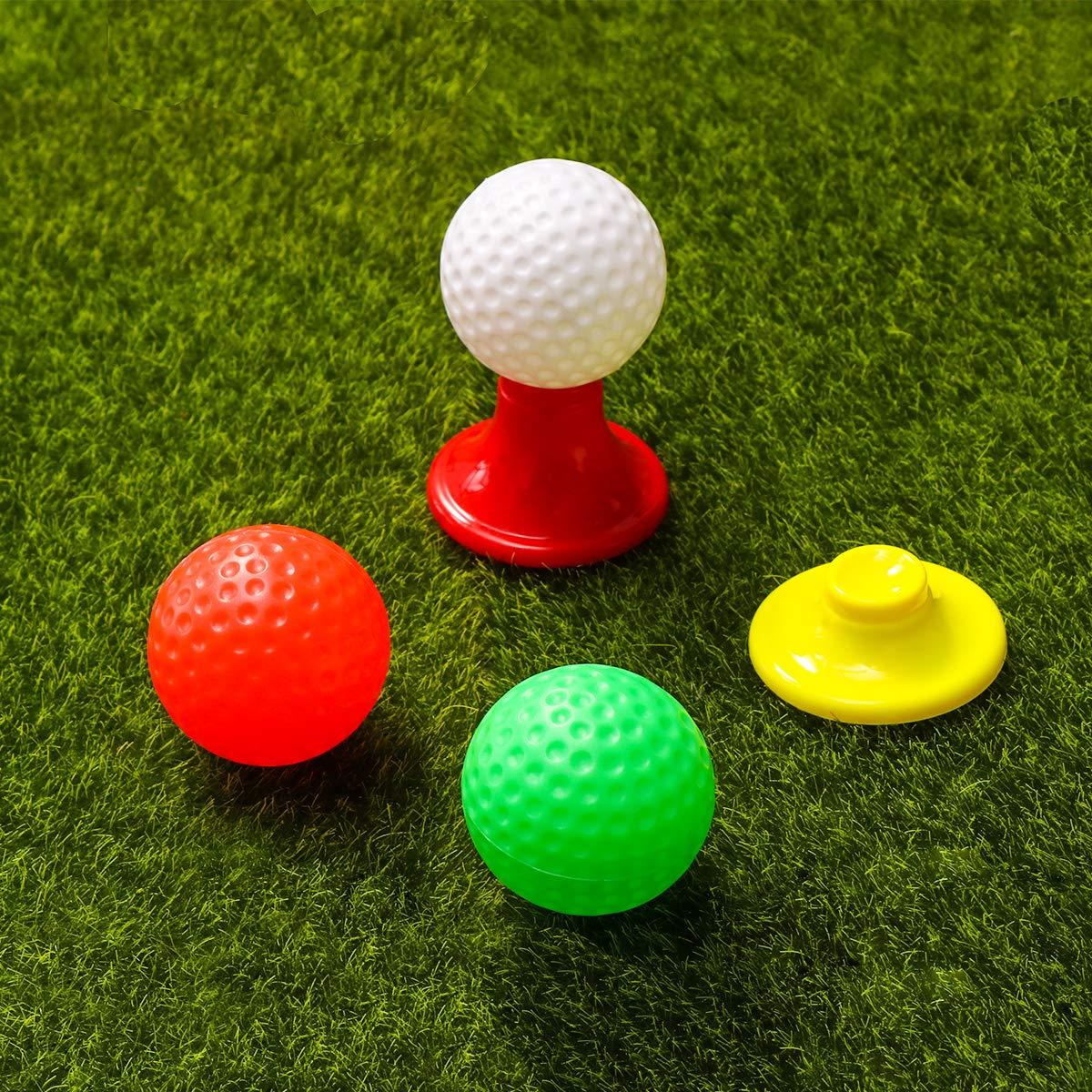 Amazon.com: LIOOBO - Juego de juguetes de golf de plástico ...