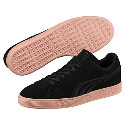PUMA Suede Classic Badge Flip EM Men Black/Muted Clay (36649102) (9.5 Men)