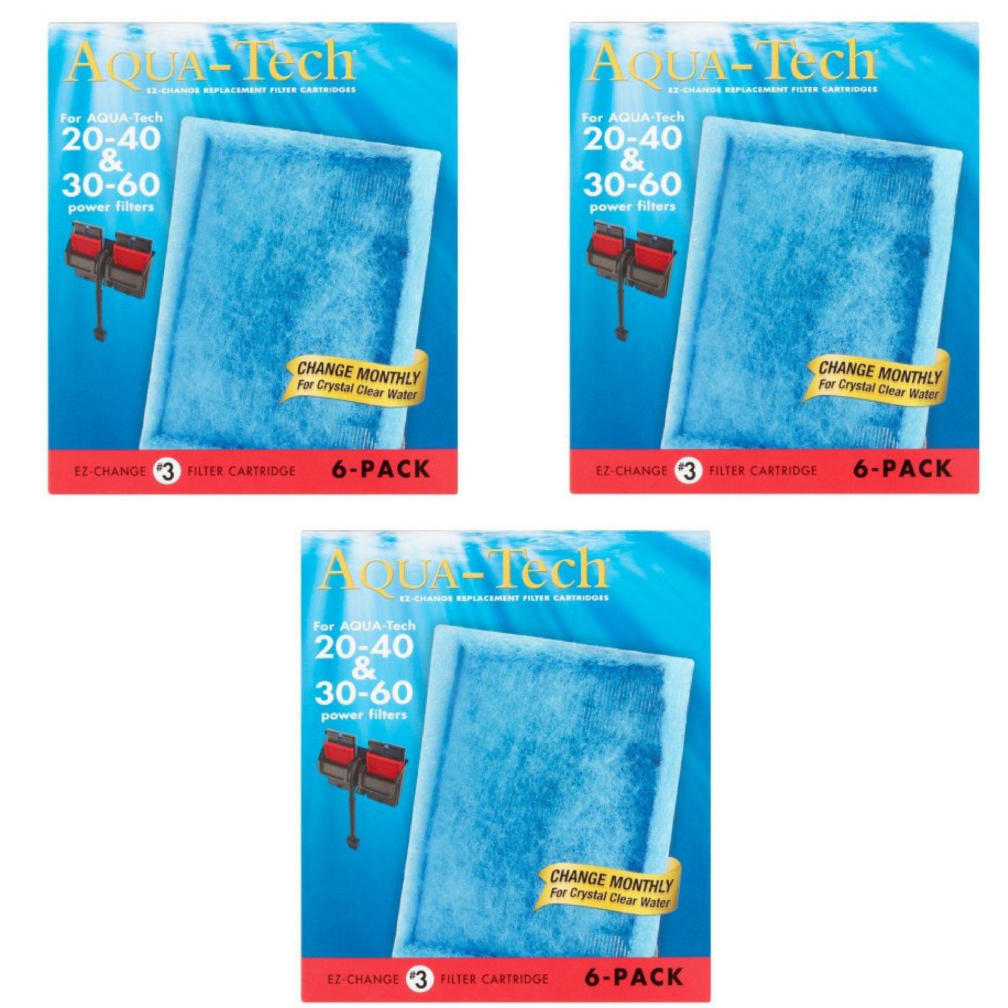 AquaTech EZ-Change Replacement #3 Filter Cartridge, 6 pack (3)