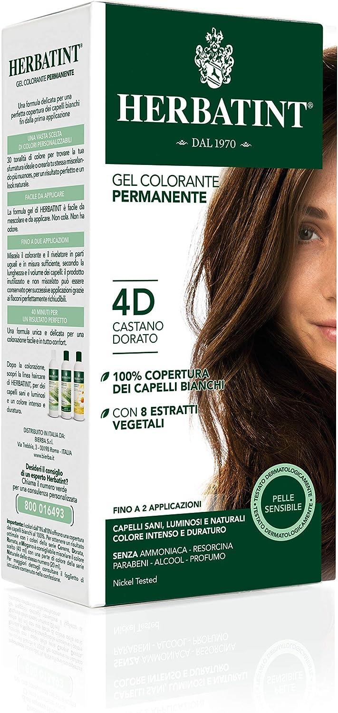 Herbatint Hair Dye 4d Golden Chestnut Amazon Sg Beauty