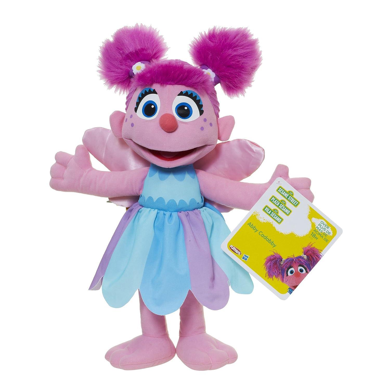 Playskool Sesame Street Abby Cadabby Jumbo Plush