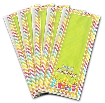 50 x bolsas transparentes de celofán para dulces, golosinas ...