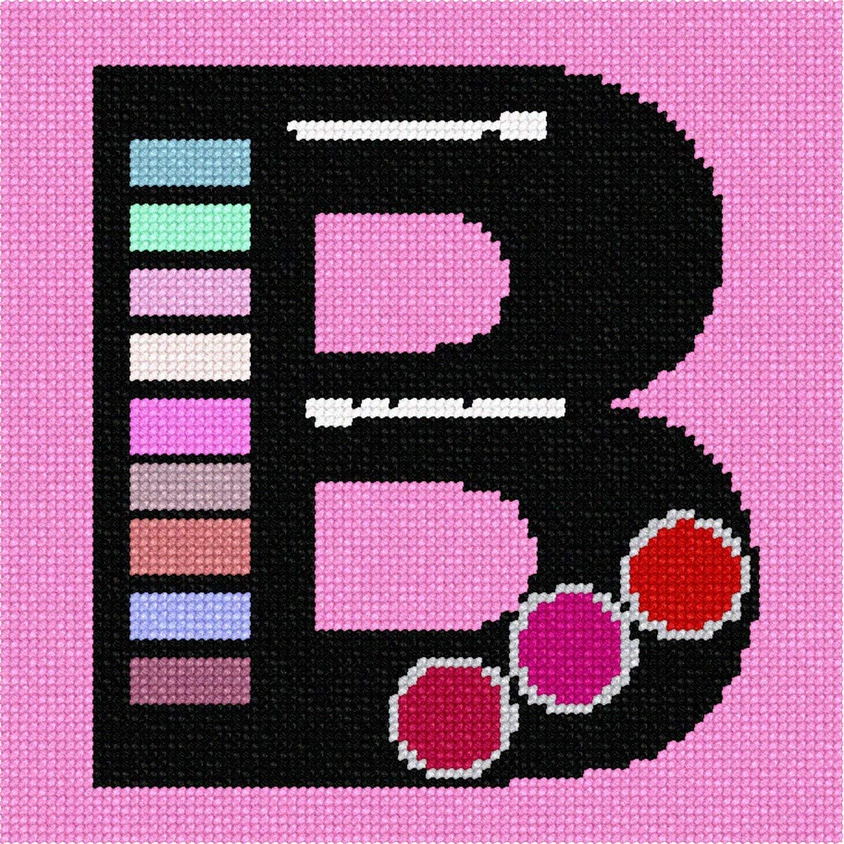 pepita Letter B Music Needlepoint Kit
