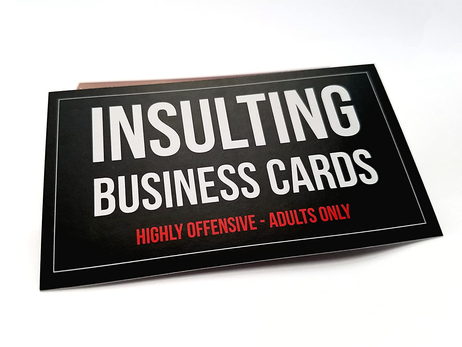 Amazon.com: Offensive Business Cards, Full Color, Set of 50 with ...