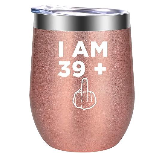 I am 39 Plus dedo medio - 40th cumpleaños regalos para las ...