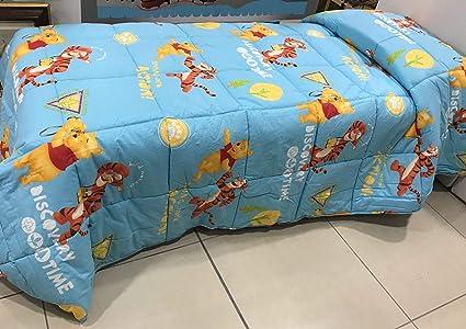 Trapunta Winnie The Pooh.Trapunta Invernale Winnie The Pooh E Tigro Avventura Azzurro Piumone