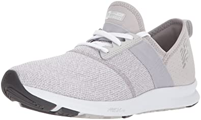 286b6afdf2 New Balance Women's FuelCore Nergize v1 FuelCore Training Shoe, Light Grey,  ...