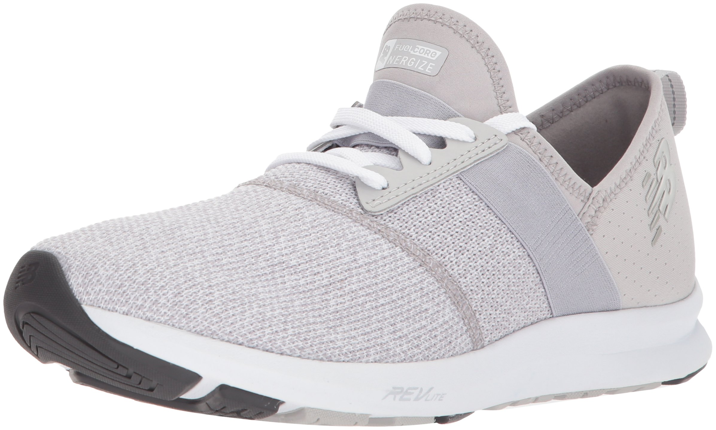 New Balance Women's FuelCore Nergize v1 FuelCore Training Shoe, Light Grey, 5 B US