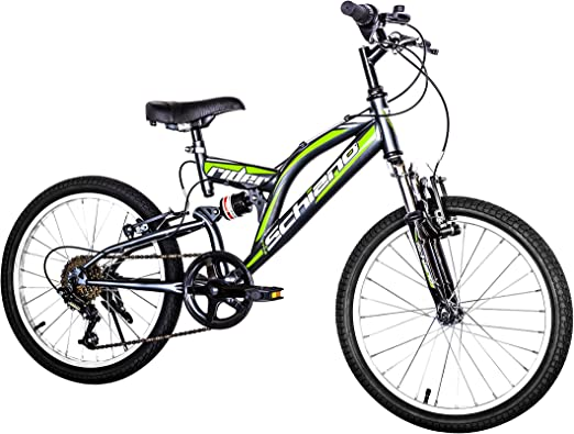 F.lli Schiano Rider Bicicleta Biamortiguada, Hombre, Antracita ...