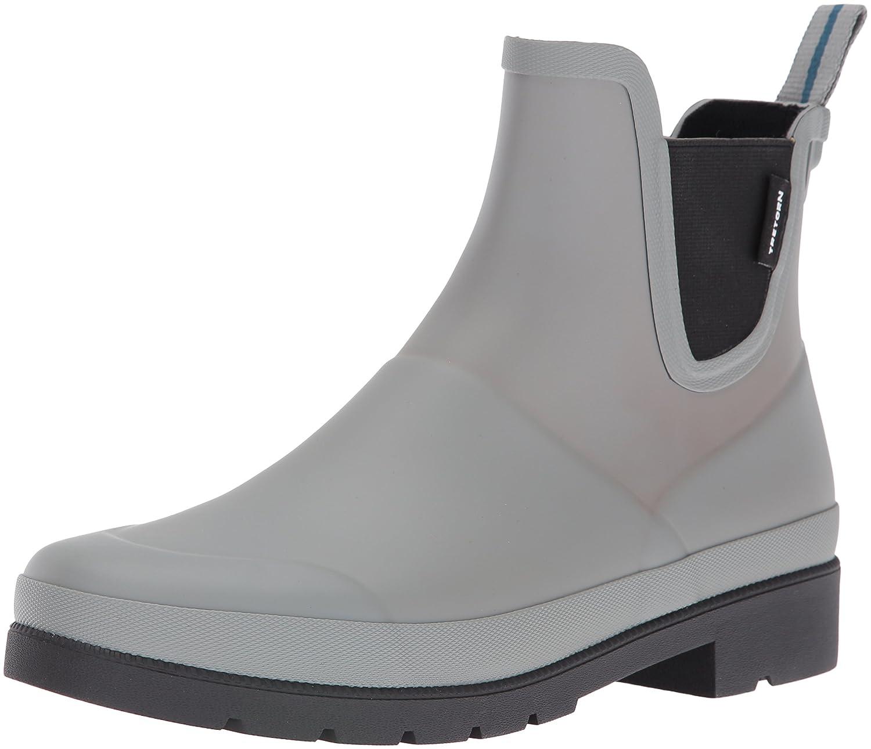 Tretorn Women's Lina Rain Boot B01G69IO24 4 B(M) US Grey/Black