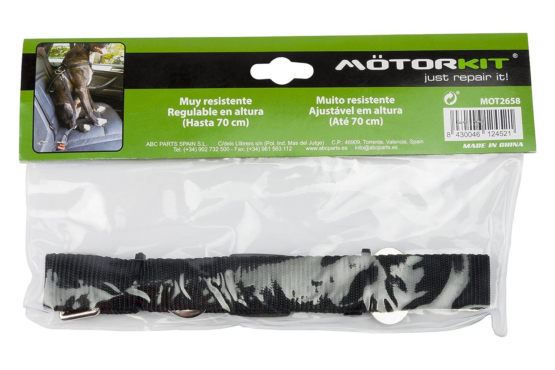 Motorkit MOT2658 Cinturón para Perros, Negro, Universal: Amazon.es ...