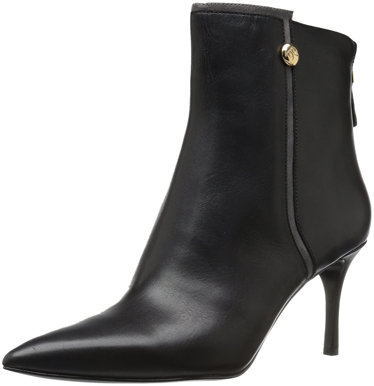 Nine West Women's Monsoon Ankle Boot B01N3CH6U6 6 B(M) US|Black/Dark Grey