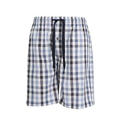 Ceceba Schlafhose Weiß Herren Kurze Bermuda Modern Pyjamahose Rjq354AL