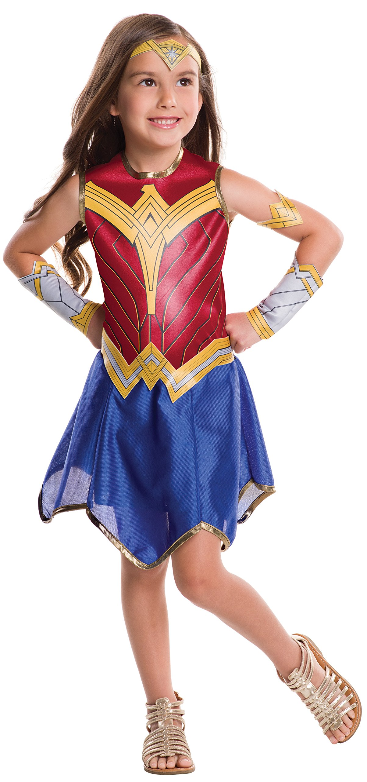 - 81kTI74FXQL - Rubie's Costume Wonder Woman Movie Value Costume, S