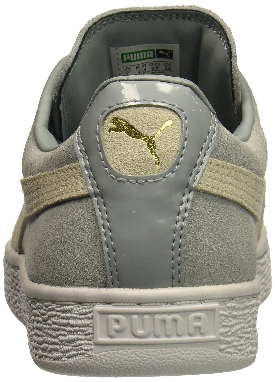 PUMA Women's Suede XL 8 Lace Wn Sneaker B01MZ0AHWP 8 XL M US Quarry-marshmallow f40020
