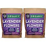 Organic Lavender Flowers Dried   Perfect for Tea, Baking, Lemonade, DIY Beauty, Sachets & Fresh Fragrance   100% Raw From Fra