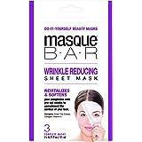masque BAR Wrinkle Reducing Sheet Mask - Full Face Mask, 3-Set